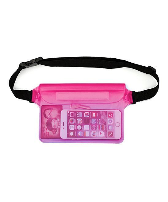 Pink Waterproof Fanny Pack