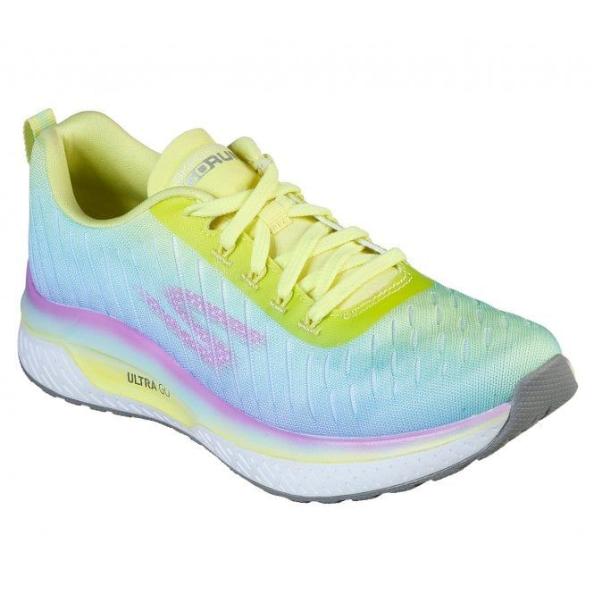 Skechers Skechers Gorun Steady Endure Yellow Multi Trainers