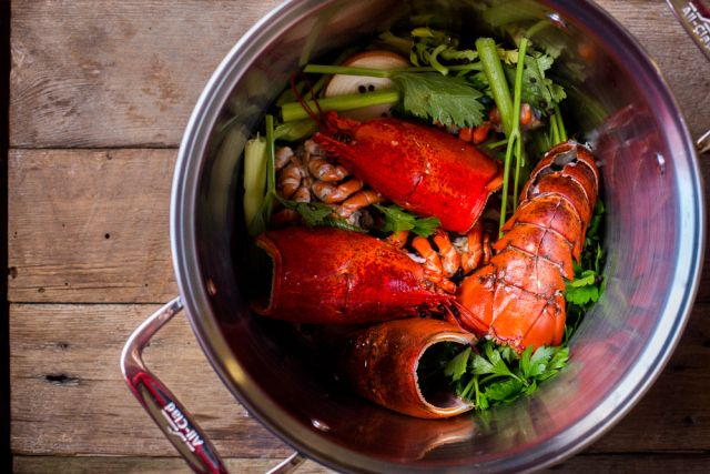 Lobster Stock by www.thedomesticman.com @Russell Groves Crandall #paleo