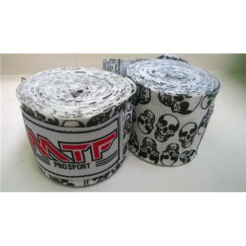 MTF Boxing Hand Wraps   http://www.thaietcgroup.com/product/mtf-muay-thai-180-boxing-handwraps-mma-fitness-gear-skulls-white