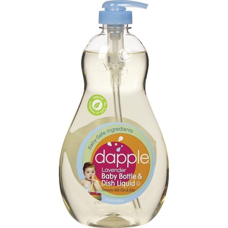 Amazon.com: Dapple Natural Based baby bottle & Dish Liquid, 16.9-fluid ounces (Pack of 1): Health & Personal Care