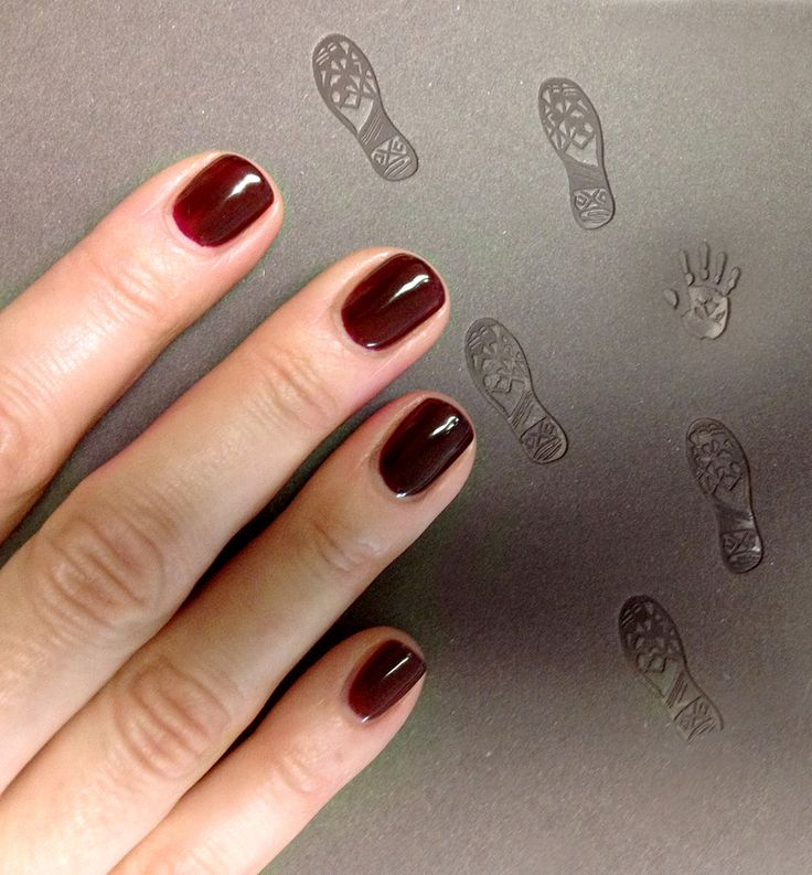 Red Carpet Manicure - Bourgeois Babe