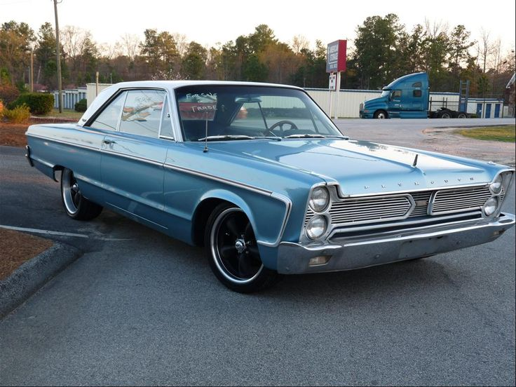 "gokustom: "" Love the '65 '66 Plymouth Fury's. In fact most mid sixties B &…"