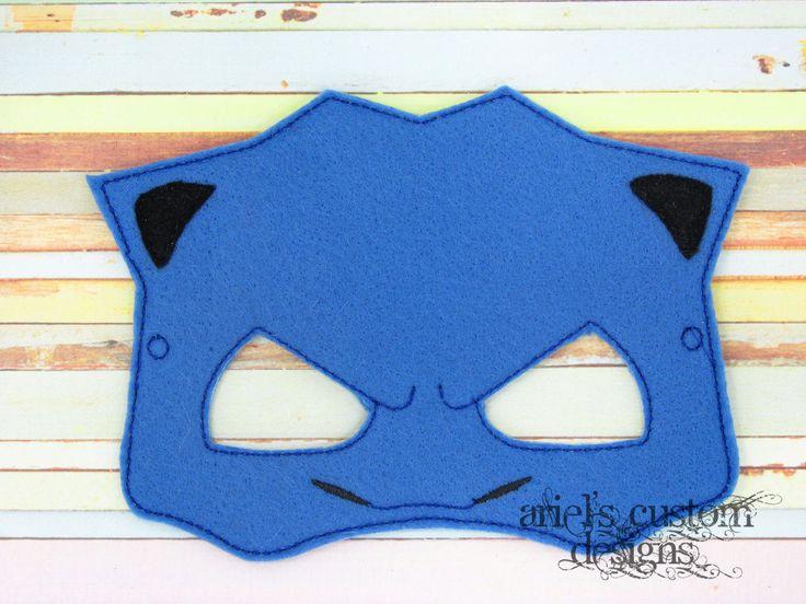 Mega Evolved Pokemon Blastoise Mask - Felt Dress Up Masks by ArielsCustomDesigns on Etsy