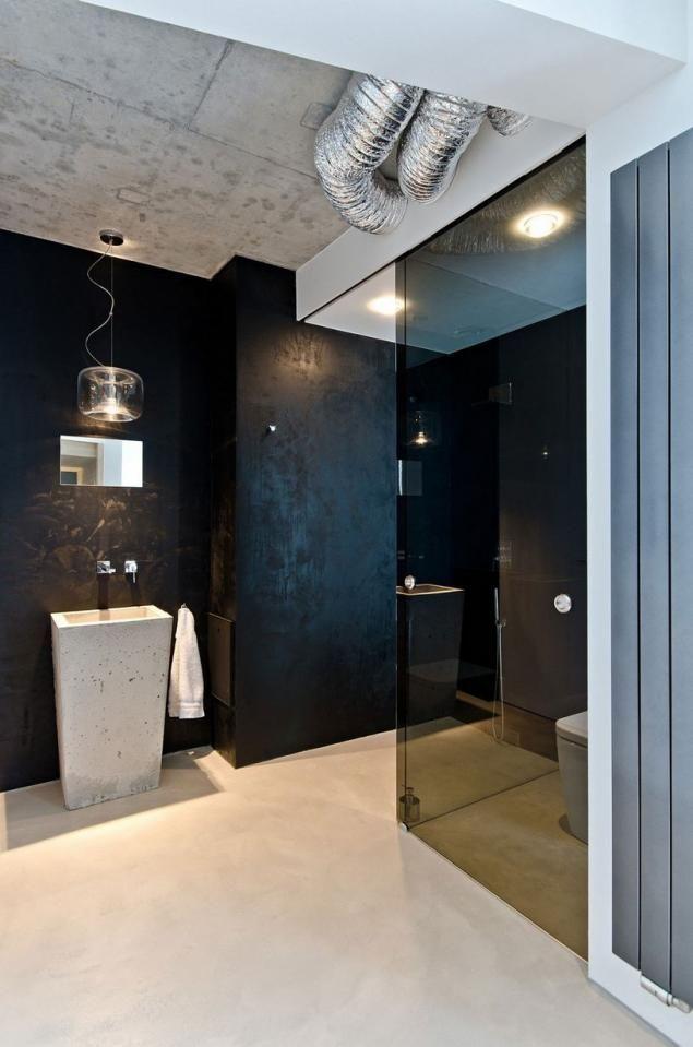Beton mint a szigorú, minimalista design fő eleme egy modern otthonban - minimál lakberendezés