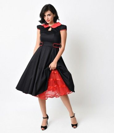A crinoline petticoat can add fun flare and an authentic 1950s look to a swing dress, but even more than that, it can al...Price - $42.00-kdHGg1lq