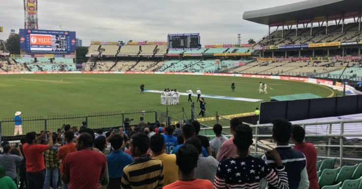 LIVE Score Cricket India vs Sri Lanka 1st Test Day 1 at Kolkata: Tea taken as bad light continues to halt play