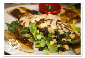 Chili's Quesadilla Explosion Salad'KinFolkRecipes