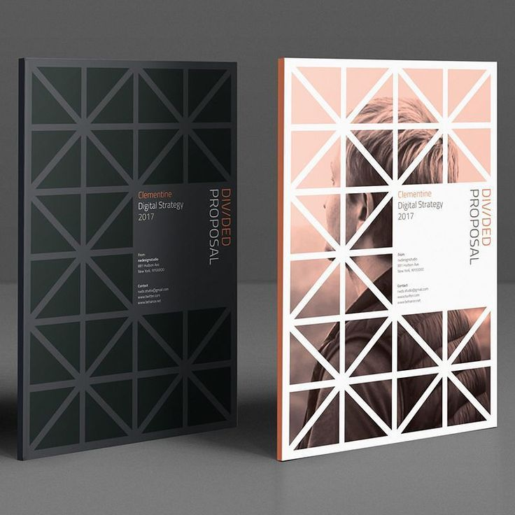 Divided Proposal by RWDS  #design #print #inspiration #quote #brief #proposal #agency #infographic #cover