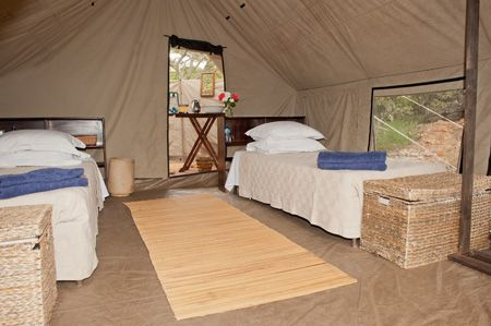 Comfortable beds in the guest tests to help you get a good nights sleep after a long day in the saddle.