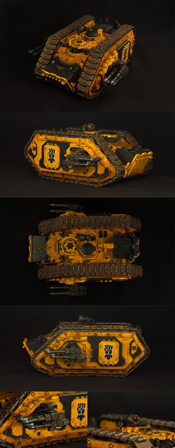 Imperial Fists - Spartan Assault Tank