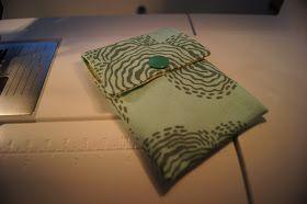 Sewing Tini: Perso-Mäppchen mit Geldscheinfach