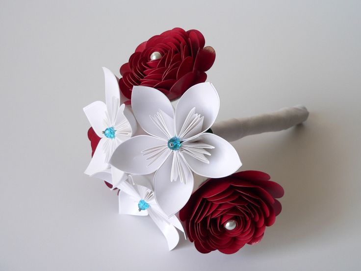 Red Bouquet, White Bouquet, Red, White, and Blue Bouquet, Patriotic Wedding, Winter Wedding Bouquet, Winter Bouquet by LoveAccented on Etsy https://www.etsy.com/listing/251416284/red-bouquet-white-bouquet-red-white-and