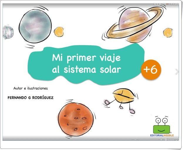 """""""Mi primer viaje al Sistema Solar"""" de Fernando G. Rodríguez"""