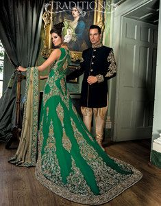 black velvet wedding sherwani