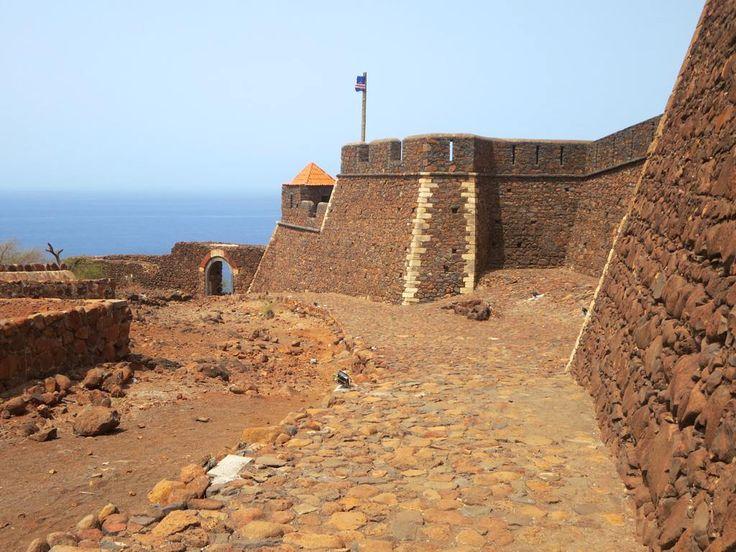 The Forte Real de São Felipe was built from 1587 to 1593 to protect Cidade Velha (Ribeira Grande) on Santiago Island, Cape Verde, from the attacks of English pirates.