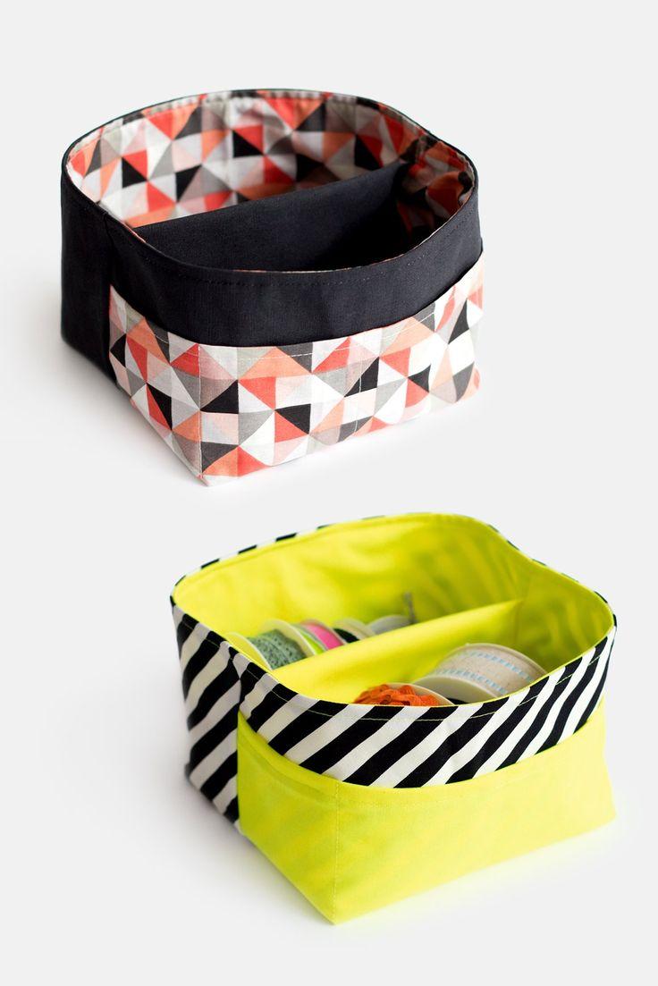 Schnittmuster Freebie Utensilo Partition Bags Varianten diy   – Näh Projekte