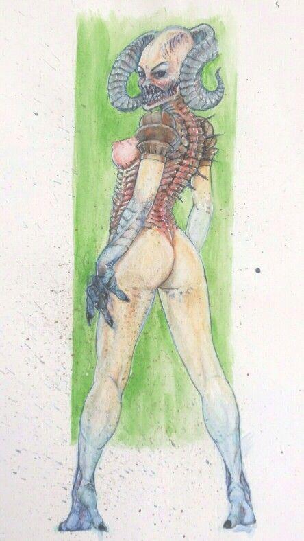 Watercolour sketch