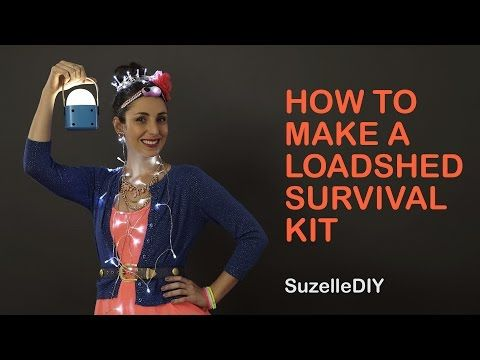SuzelleDIY - How to Make a Loadshedding Survival Kit - #TopTipTuesday #HarcourtsPlatinum #SuzelleDIY