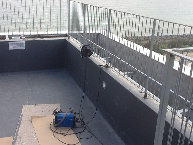 de piscinas en terrazas