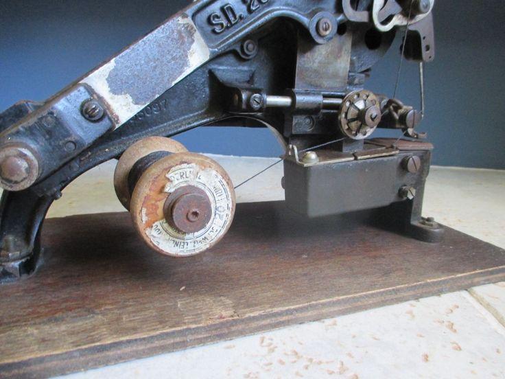 Details about Original Junker & Ruh SD 28 Sewing machine  -> Nähmaschine Junker Und Ruh
