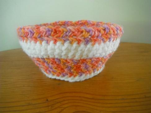 Free pattern, crochet, big bowls