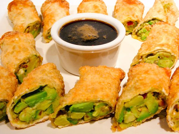BJ's Restaurant and Brewhouse Avocado Egg Rolls Copycat Recipe