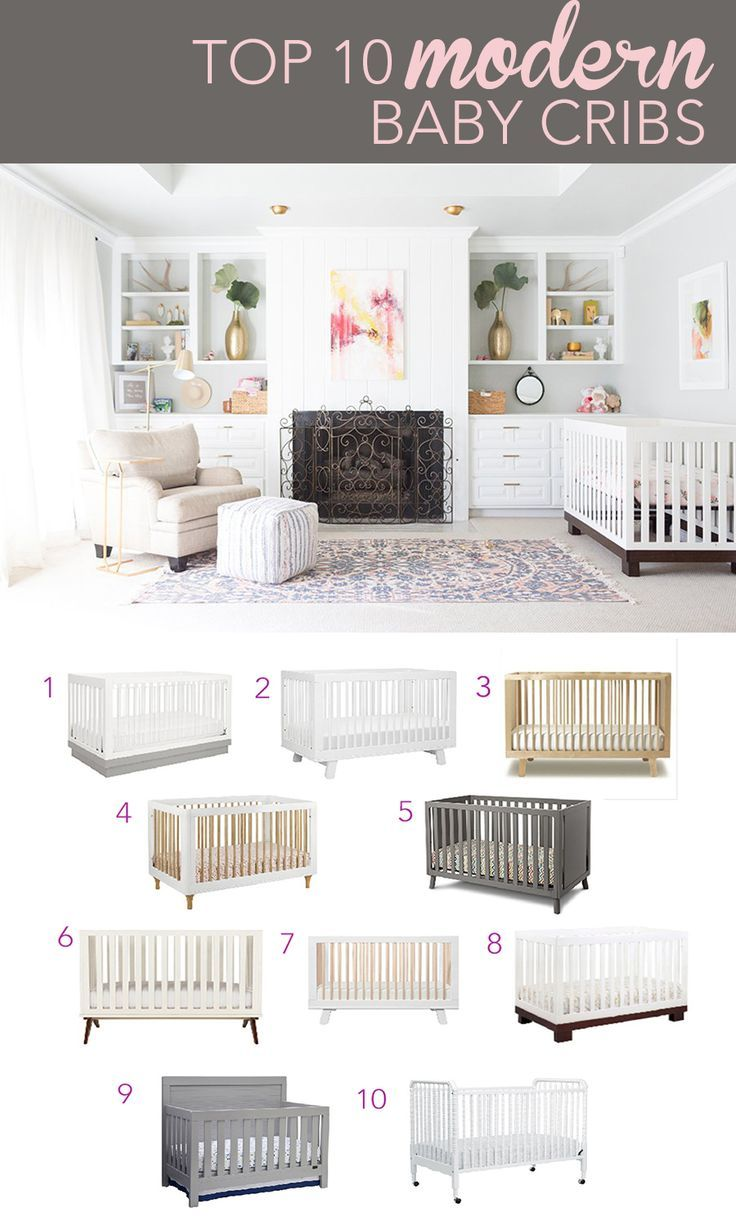 Home Decorating DIY Projects: Top 10 Modern Baby Cribs | Pinterest