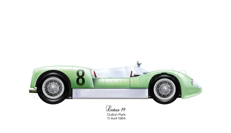 Lotus 19 - Oulton Park - 1964