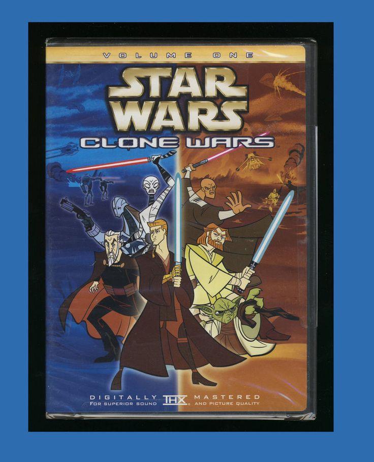 Star Wars Clone Wars Volume 1 (DVD 2005)  ***New Factory Sealed***  24543157922 | eBay