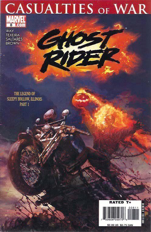 Ghost Rider (4th Series) 8N    Boeken / Comics, Comics, Ghost Rider, Ghost Rider (4th Series) www.detoyboys.nl