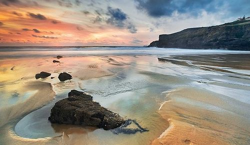 Zambujeira do mar, Costa Vicentina, Alentejo - PORTUGAL. Foto de autor desconhecido.