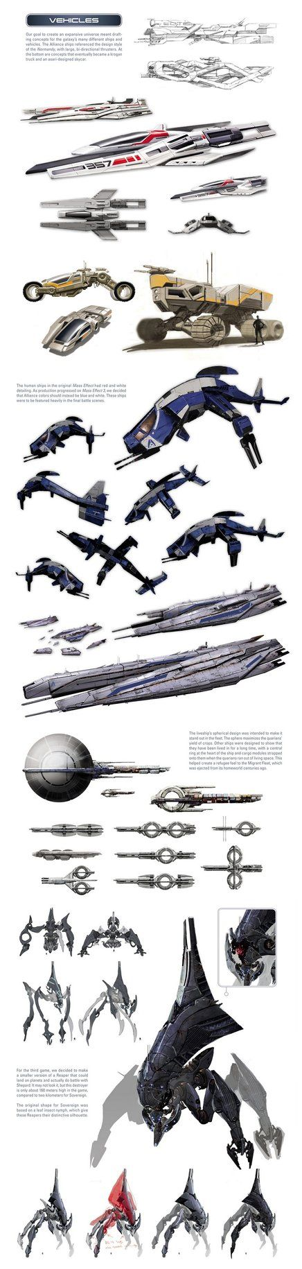 Mass Effect universe - ships and vehicles by ~SupermanLovesAspen on ...