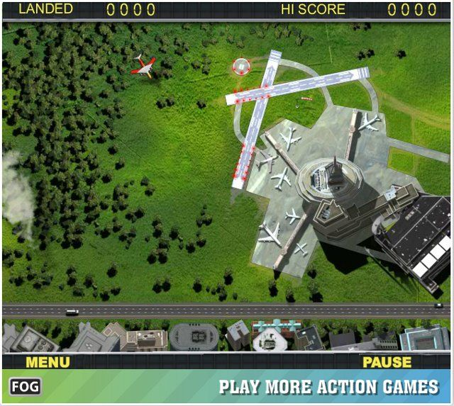 Free Strategy & Flying Games – Air Traffic Chief