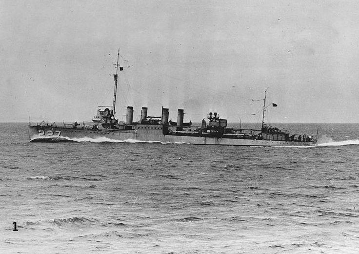 USS Pillsbury (DD-227) приблизительно 1930 г.