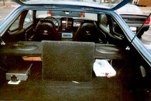 Sam R's 1973 AMC Hornet audio upgrade with Infinity Reference, Kenwood, MTX, Pioneer, Polk, Phoenix Gold, and Profile gear from Crutchfield! #AMC #Hornet #CarAudio #InfinityReference #Kenwood #Pioneer #Polk #MTX