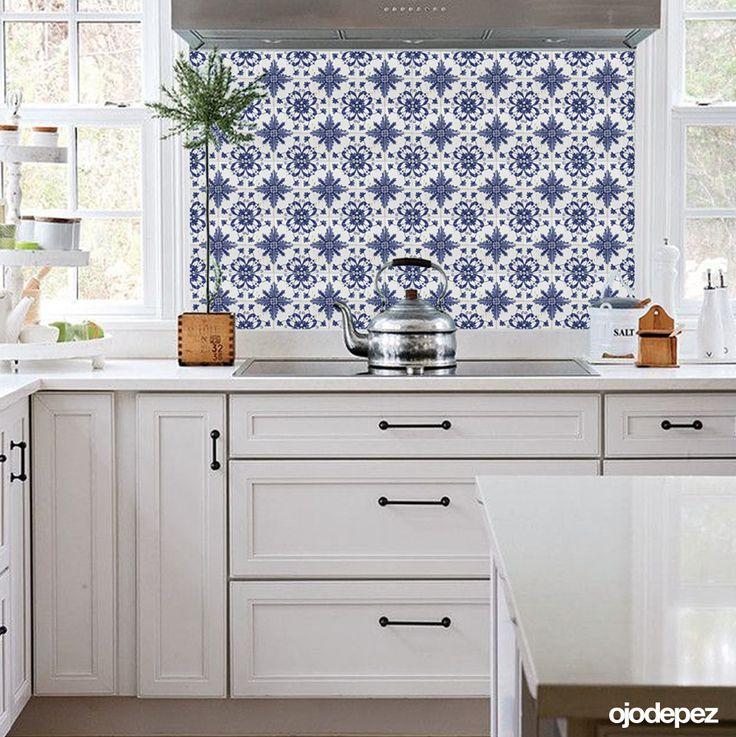 62 best vinilos decorativos home images on pinterest for Azulejos decorativos