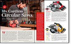Tool Test: 18v Cordless Circular Saws