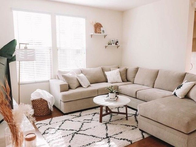 Pin By Anne Vincent On Beach House Room Beige Couch Living Room Beige Sofa Living Room Tan Couch Living Room