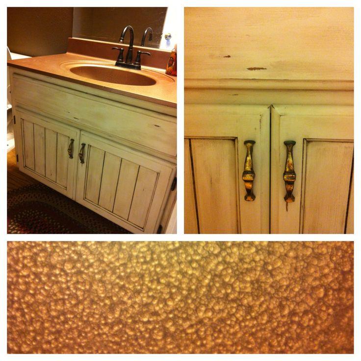 Spray Paint Bathroom Vanity Top 18 best rustic countertop diy images on pinterest | kitchen