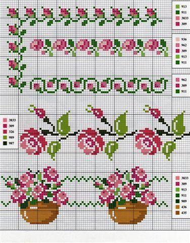 Resultado de imagen para cross stitches patterns
