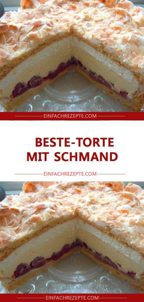 Beste-Torte mit Schmand 😍 😍 😍