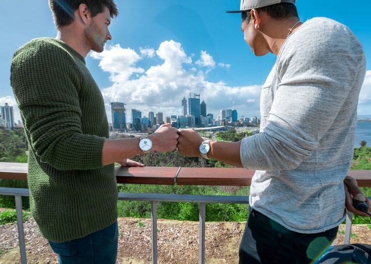 The first WHY photo shoot was ended in the most fitting way; overlooking our skyline. WHY Watches