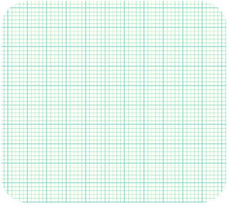 Graph Paper Printable X Full Sheet  Graph Paper Fabric