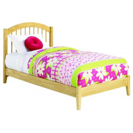 Windsor Twin Bed in Natural - Walmart.com