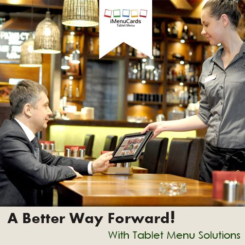 Move ahead of others with tablet menu. Know more here: www.imenucards.in/ # DigitalMenu #iMenuCards