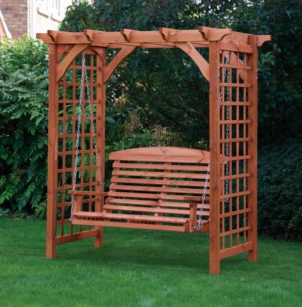 Pergola Designs For Swings: 170 Best Images About Wooden Swings On Pinterest