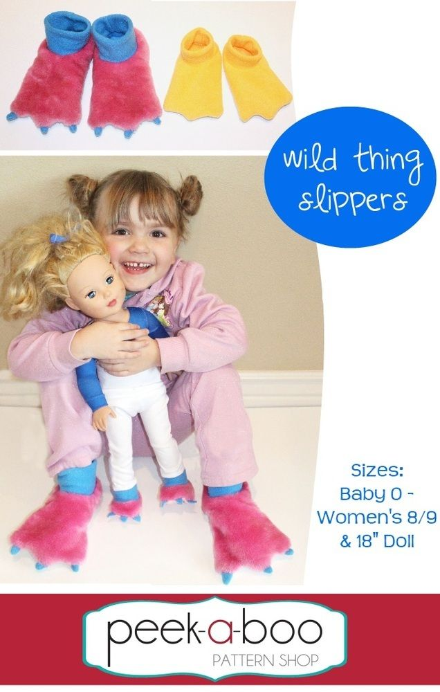 Image of Wild Thing Slippers