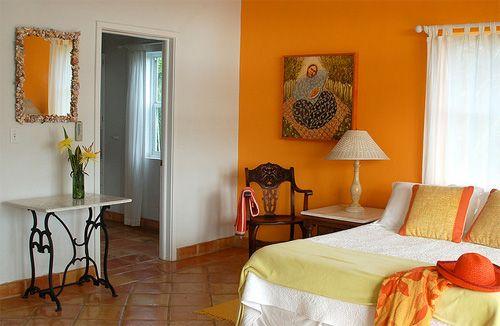 sunset orange for accent wall bedroom Best 25+ Orange bedrooms ideas on Pinterest | Grey orange