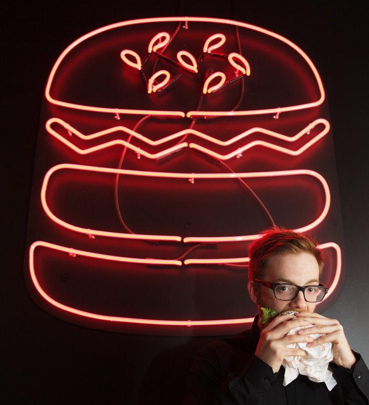 Maleik from Mr Burger. Quite liked this one! (By Kristoffer Paulsen, for Broadsheet).